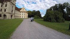 """STREET VIEW: Kloster Obermarchtal an der Donau in GERMANY - """"Marchtal Abbey"""" in Obermarchtal - neighbor village of RECHTENSTEIN. Mansions, Landscape, House Styles, Places, Youtube, Paisajes, Lugares, Luxury Houses, Landscape Paintings"""