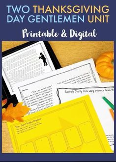 Use this great middle school Thanksgiving story to celebrate the season while teaching the important skills of summarizing, irony, and paragraph writing! Two weeks of interactive notebook foldables and activities are ready to go in printable AND easy to use digital form! Paragraph Writing, Pre Writing, Reading Lessons, Reading Skills, Citing Evidence, Thanksgiving Stories, Middle School Writing, Close Reading, Digital Form