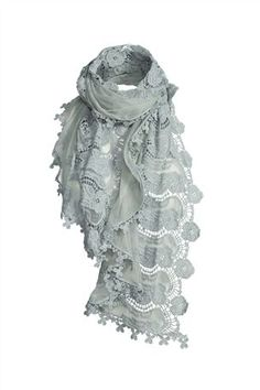 Pale Blue Scarf....to match the bag : P