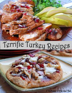 THE MOST delicious turkey recipes!  One for the slow cooker and one for that leftover turkey.  Do the turkey trot on over to http://asprinkleofthisandthat.blogspot.com to get both recipes!