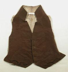 Waistcoat 1805-10. National Trust