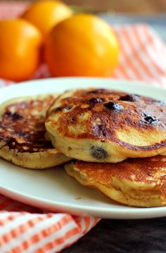 If you are berry-obsessed then these ultimate blueberry pancakes will ROCK YOUR MORNING with berry bursts in every bite!