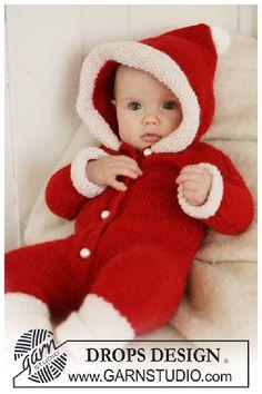 Baby Knitting Patterns, Christmas Knitting Patterns, Knitting For Kids, Baby Patterns, Free Knitting, Free Crochet, Crochet Patterns, Designer Baby, Christmas Baby