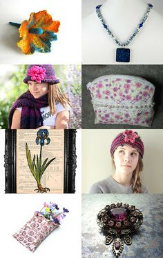 february blooms . . . by Susan Rodebush on Etsy--Pinned with TreasuryPin.com
