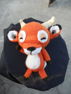 Crochet Amigurumi Animal Crossing New Leaf Villager (Beau) on Etsy, $65.00