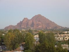 Camelback Mountain...  Tempe Arizona, Phoenix valley within time. auntie is moving there next summer and im gunna miss her!!! she is MY person to go to. ))': so i will be visiting her.
