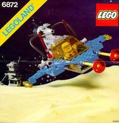 These handy Lego Space instructions are here to help you with building your LEGO sets. LEGO are childrens toys and are great if you can pick them up in a toy sale! Lego Vintage, Lego Plane, Classic Lego, Classic Toys, Lego Space Sets, Big Lego, Lego Kits, Lego Videos, Free Lego