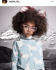 The stuff of dreams. I am constantly blown away by the genius of creative minds and what can be accomplished when they work together 🎆 Loved spotting our Powder Pink Classik frames in this shot xxx Kids Sunglasses, Optical Glasses, Kids Reading, Powder Pink, Cool Kids, Kids Fashion, High Neck Dress, Cool Stuff, Creative