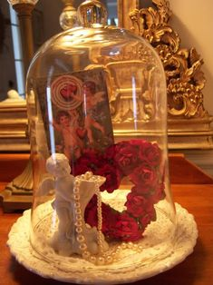 cloche idea for valentine's Day