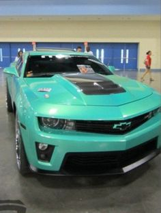 Not much of a camero fan but love the color.I'd make an exception for this car.