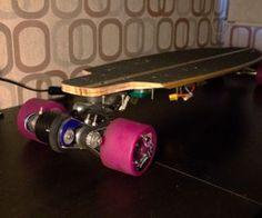 V3 No Weld 3D Printed Electric Longboard