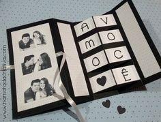 DIY - Cartão Amo Você - Namorada Criativa - 13