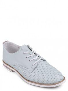 1bba40c41a8b Dámské nízké boty z pravé kůže TENDENZ - modrá