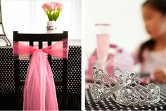 Your little mademoiselle will want to be dressed in fashion and flair for her Paris themed birthday party, and a crown makes the most special of occasions even more dazzling. Provide little tiaras for the birthday girl and each party guest to wear throughout the day. This fun accessory doubles as a great party favor so each little girl can return home with a reminder of the fun they had.