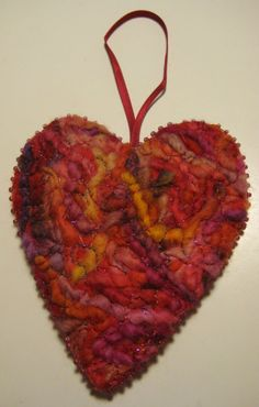 Image result for needle felted hearts
