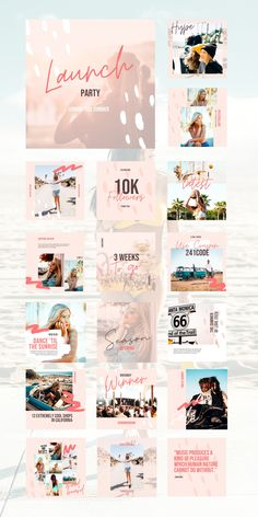 It's good vibes only with the Cali Social Feed Template. This beautifully chill set of 30 carefully curated and fully customizable Canva Templates just exudes the Cali aesthetic. Enhance your brand with these cohesive, dreamy, unique social feed templates that will engage, influence, and inspire your audience with ease.