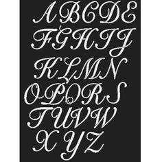 Kaufman Monogram Letter Apron (Black, Monogram-R)