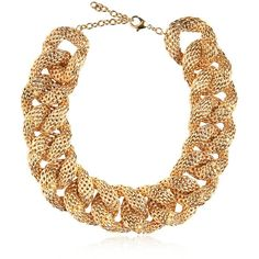 BALMAIN Gold Plated Chain Necklace ($1,087) ❤ liked on Polyvore featuring jewelry, necklaces, accessories, collares, balmain, gold, collar necklace, gold plated chain necklace, gold plated collar necklace and chain jewelry