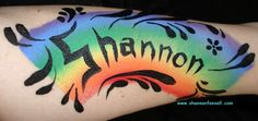 Hand and Arm Face Painting Designs for Kids - Balloon Animals