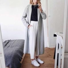 Creative Professional - Imgur Look Fashion, Korean Fashion, Fashion Outfits, Womens Fashion, Fashion Fall, Fashion Clothes, Noora Style, Coats For Women, Jackets For Women