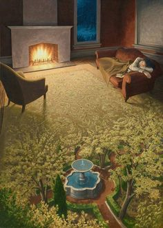RΛMIN NΛSIBOV (@RaminNasibov) / Twitter Optical Illusion Paintings, Optical Illusions, Canadian Painters, Canadian Artists, Robert Gonsalves, Wallpaper Windows 10, Illusion Kunst, Rene Magritte, Colossal Art