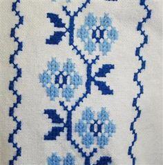 Mini Cross Stitch, Cross Stitch Rose, Cross Stitch Borders, Cross Stitch Designs, Cross Stitching, Cross Stitch Patterns, Baby Boy Knitting Patterns, Loom Patterns, Knitting Stitches