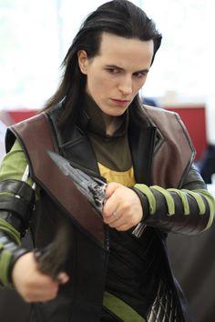 Loki by Cosplayer Fahrlight - She's amazing! @Maciej Freudenheim Hazeldine
