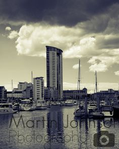 Swansea Marina, Swansea Bay, Martin Johnson, Travel And Leisure, Wales, New York Skyline, England, Landscape, Photography