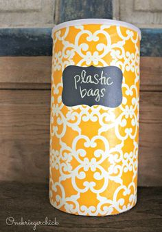 We all have that plastic bag full of plastic bags -- this kitchen DIY is a must do!