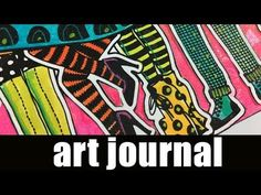 Art journal | Dylusions shimmer sprays & paint pens