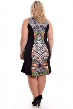Vestido Plus Size Boscoli