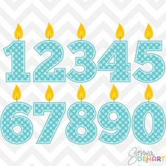 Clip Art Birthday Candles Blue Posted To The Stufflicious Community Storefront By Sonyadehart