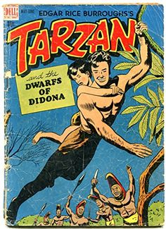 The Golden Age adventures of Tarzan are collected here for the first time! In artist Jesse Marsh left Walt Disney Studios, where he had worked on Pinocchio, Fantasia and various animated shorts, to work for Western Publishing fu Tarzan, Comic Books Art, Comic Art, Book Art, Nostalgia, Comic Kunst, Walt Disney Studios, Vintage Comics, Comic Character