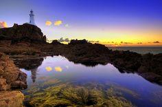 La Corbiere lighthouse, Jersey, Channel Islands