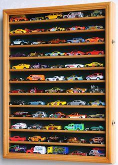 Hot Wheels Matchbox Car Display Cases Wall Rack Cabinet | eBay
