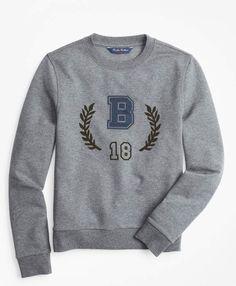b803f56788f Brooks Brothers Boys Cotton-Blend Sweatshirt