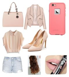 """""""Untitled #4"""" by lyana-chavarria on Polyvore featuring MICHAEL Michael Kors, Chicwish, Topshop, Zizzi, Rupert Sanderson, LifeProof, Fiebiger, women's clothing, women and female"""