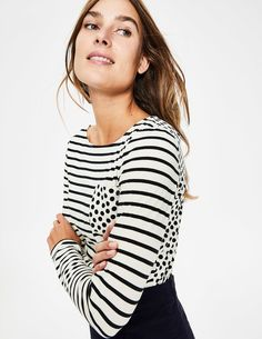2018 New Hot Women Striped Off-the-shoulder England Style V-neck Shirt Shirt To Enjoy High Reputation At Home And Abroad Women's Clothing