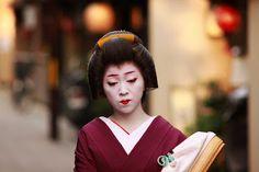 Japan, Kyoto Geiko in Gion
