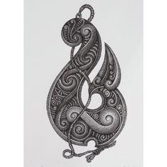 Contemporary Maori artist Steve Hikaiti - new prints Maori Designs, Polynesian Designs, Polynesian Art, Tatoo Designs, Polynesian Tattoos, Doodles Zentangles, Hook Tattoos, Tattos, Maori Symbols