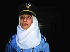 """Malack, 16. Meredith Hutchinson's  """"Vision not Victim"""" project asked refugee girls what they wanted to be when they grew up, and documented the results on camera."""