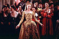 Cate Blanchette  The movie Elizabeth