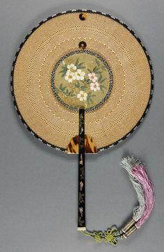 Fan, late 1800s, China.