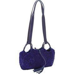 #EveningBags, #Handbags - Moyna Handbags Beaded Evening Wristlet Royal - Moyna Handbags Evening Bags