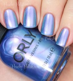 """""""Angel Rain"""" is a pale blue to lilac to green multichrome"""