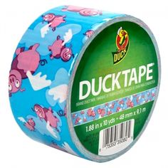 Printed Duck Tape® - Flying Pigs http://duckbrand.com/products/duck-tape?utm_campaign=color-duck-tape-general&utm_medium=social&utm_source=pinterest.com&utm_content=printed-duct-tape