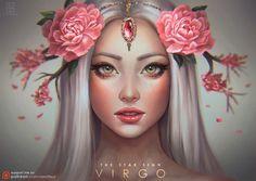 Virgo - The Star Signs by serafleur on DeviantArt