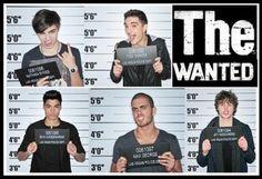 The Wanted Mug Shots