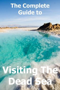 Visiting the Dead Sea - The Complete guide that will help you make the most of your visit on the Israeli side of the saltiest lake in the lowest place on earth. Including the best free beaches, safety guidelines and more. Adventure Awaits, Adventure Travel, Israel Travel, Israel Trip, World Images, Free Beach, Dead Sea, Once In A Lifetime, Travel Inspiration