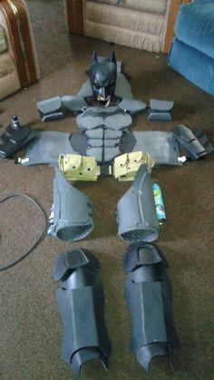 very own Batman cosplay Superhero Cosplay, Batman Cosplay, Cosplay Diy, Best Cosplay, Cosplay Costumes, Batman Armor, Batman Suit, Superhero Art Projects, Halloween Projects